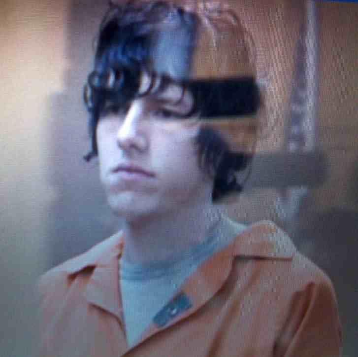 (Photo of Christopher Wilson in court on Thursday)