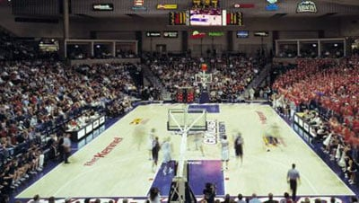 KHQ will air a total of 15 Gonzaga basketball games this season, beginning with the Nov. 5 exhibition game against Southern Oregon (Photo: FILE)