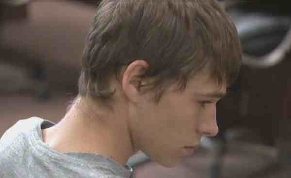(Photo of the suspect in his first court appearance in Whitman County)