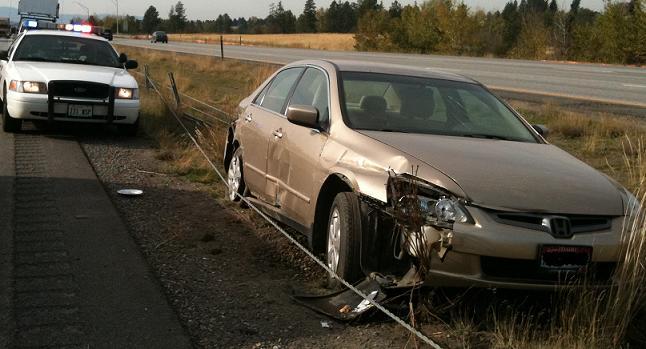 Car Hit by Pickup Near Stateline