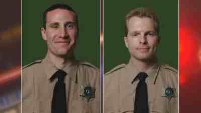 (Officer Miller on left, Officer Olson on right)