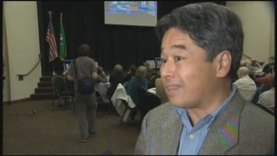 Washington state Sen. Chris Marr was down by 20 percentage points to Republican challenger Michael Baumgartner (Photo: KHQ)
