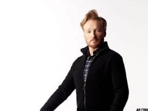 conan s new show debuts tonight woman from leavenworth is his
