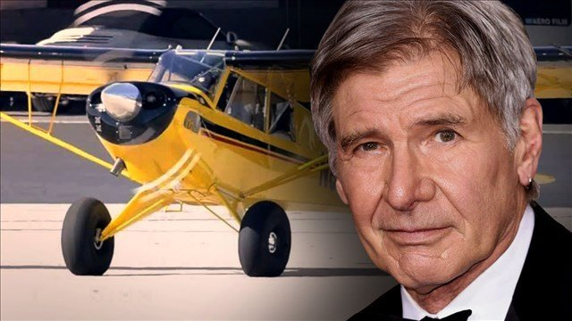 Harrison Ford says he was distracted when he flew over ...