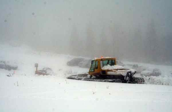 (Photo sent to pix@khq.com from Mt. Spokane on Thursday)