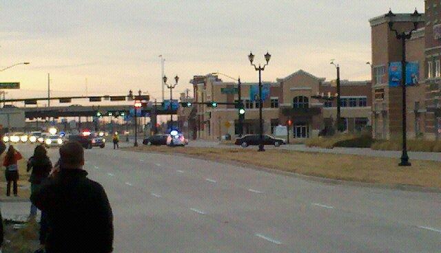 (Vice President Joe Biden's Motorcade in Frisco, TX)