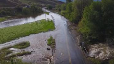 Salmon Creek Road Closure