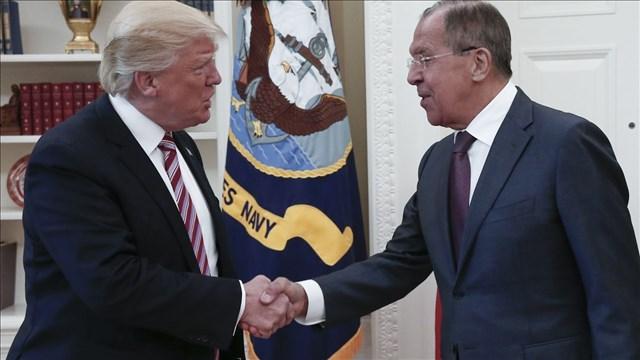 President Trump met with Russian diplomats last week.