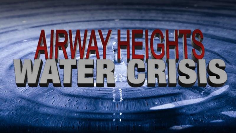 City Of Airway Heights Water Update