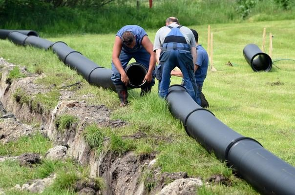 This Is A Beer Pipeline (yes you read that right). Courtesy: Joanne Wilder on Twitter h