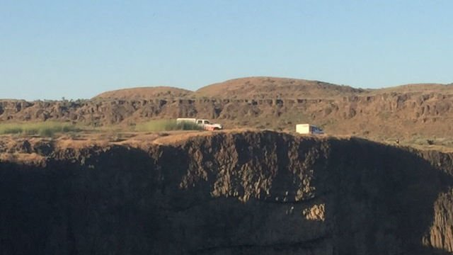 Palouse Falls hiker body found, recovery effort underway