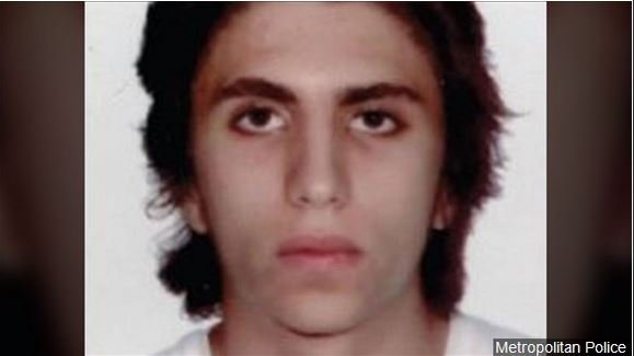 Youssef Zaghba, a 22-year-old Italian national of Moroccan descent, was named as the third London Bridge attacker, Photo Date: undated