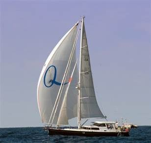 (The yacht Quest which was hijacked by Somali pirates Friday)