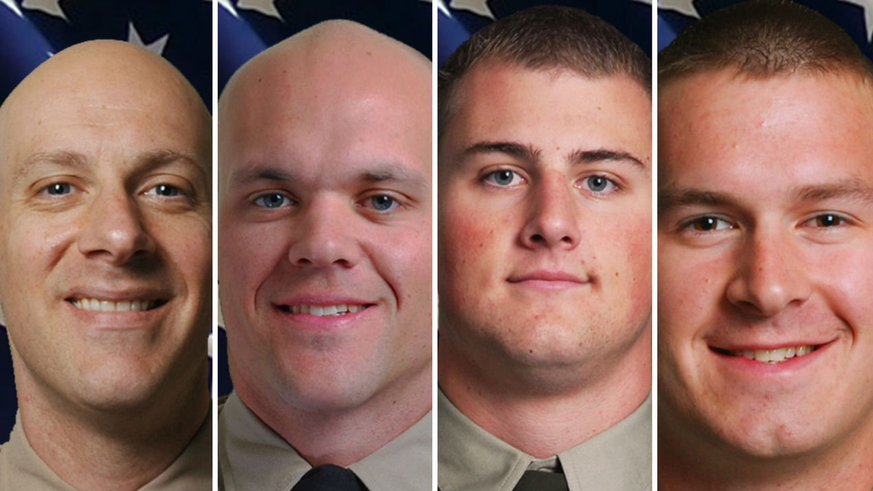 L to R: Deputies Getchell, Kullman, Rassier and Booth