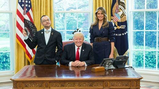 Official White House Photo by Shealah Craighead via Nick Giannopoulos's Facebook