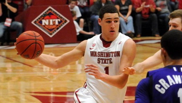 © Klay Thompson scored 17 points in the Cougars' overtime win over Northwestern (Photo: WSU Athletics)