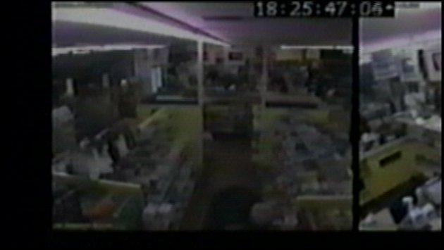 Photo from surveillance video