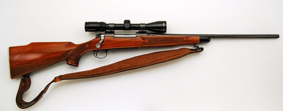 Example image of a 30 06 blot action rifle