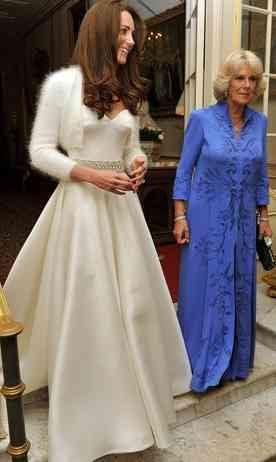 The dress after the wedding dress