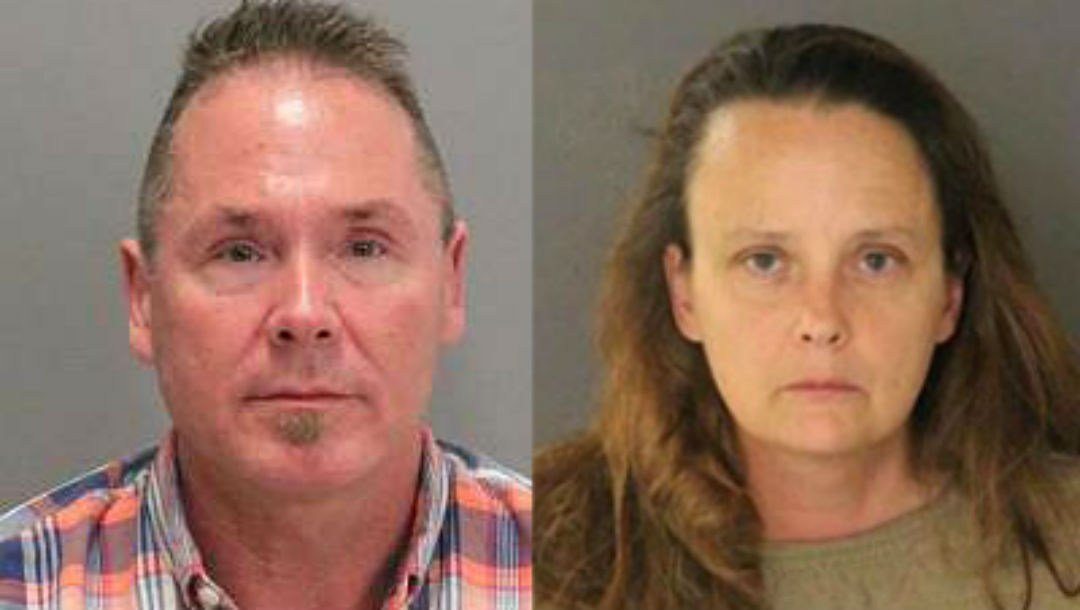 Suspects Michael Keller (left) and Gail Burnworth (right)