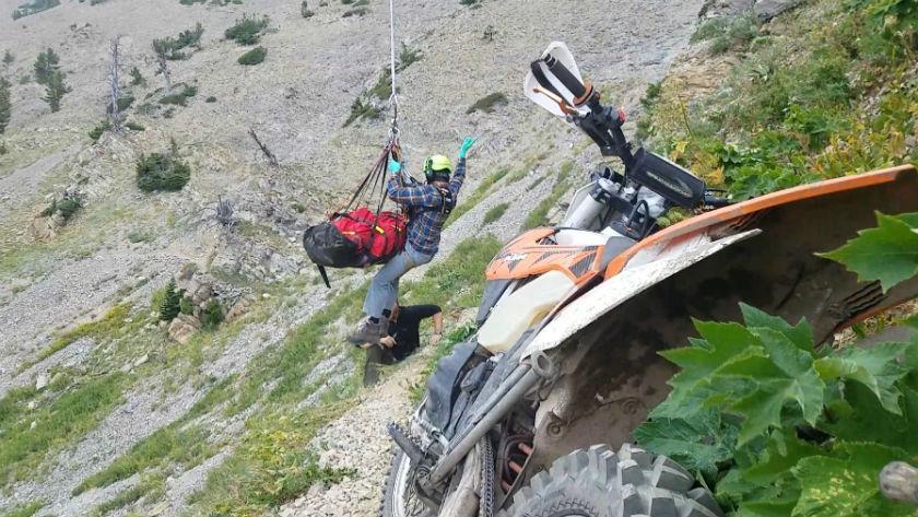 Photo courtesy Gallatin Co Search and Rescue