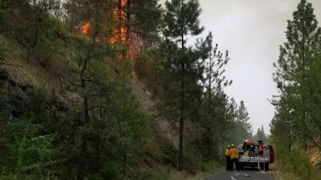 Photo Courtesy Spokane County Fire District 8 Facebook