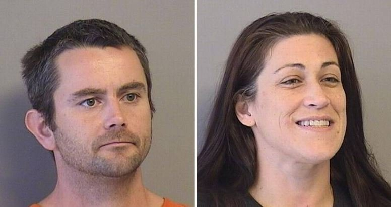 George Michael Jude, 36 (LEFT) and Sandra Yeahquo, 36, PHOTO: Tulsa County, Okla., jail