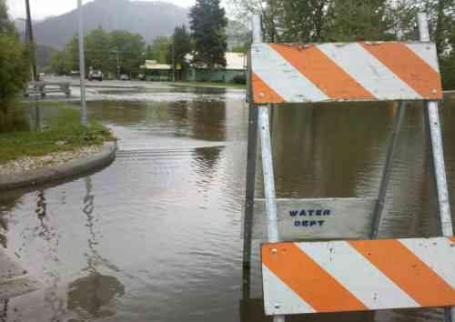 Flooding in Chewelah