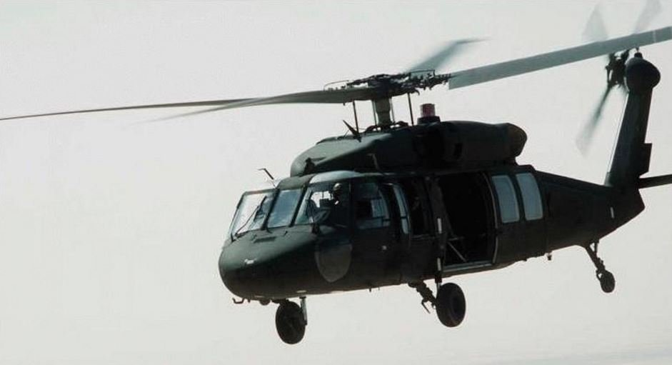 UH-60 Black Hawk helicopter - similar to the chopper that crashed off Oahu coast