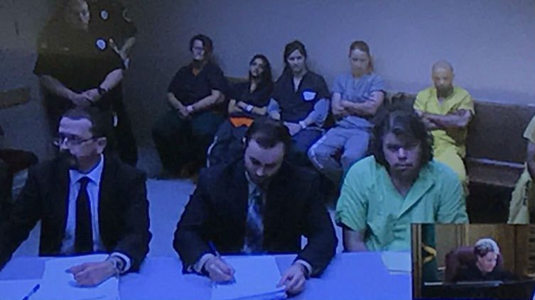 Jeremy Lindholm makes his first court appearance