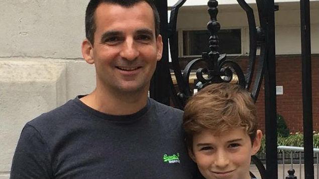 Nick Herbert and his son Ben