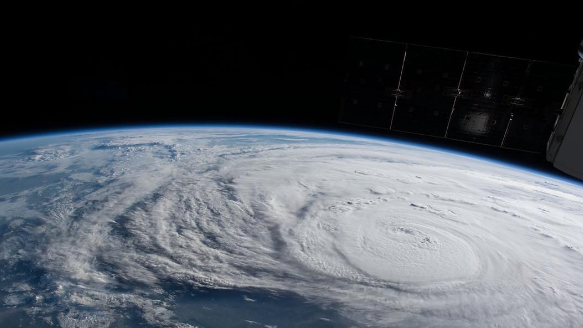 Nasa Captures Images Of Hurricane Harvey From Space
