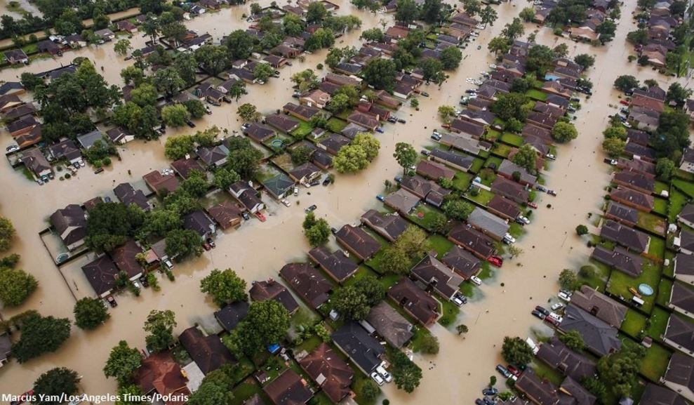 An estimated 30,000 to 40,000 homes have been destroyed in the Houston area by Harvey.