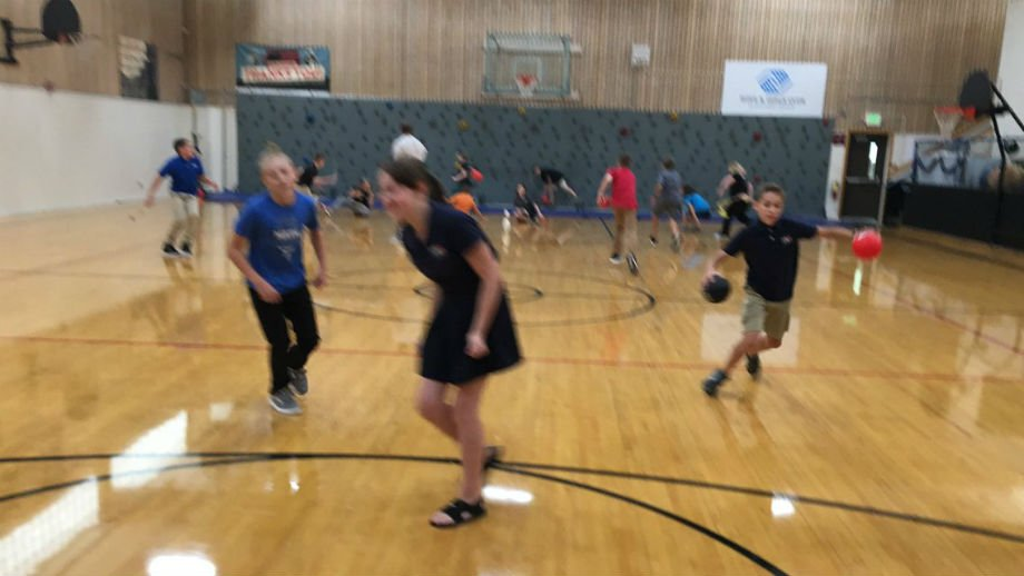 All P.E. classes are being held indoors until air quality improves.