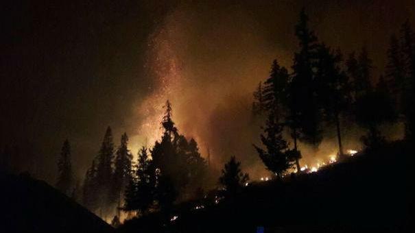 Jolly Mountain Fire, inciweb