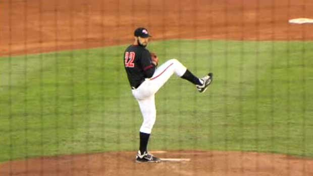 Ryan Carpenter, the WCC Pitcher of the Year, was taken by the Tampa Bay Rays (Photo: SWX)