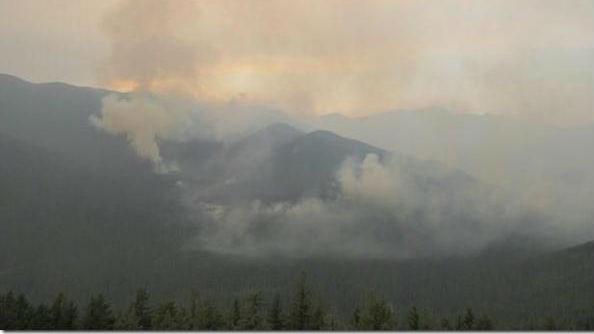North Fork Hughes fire, inciweb