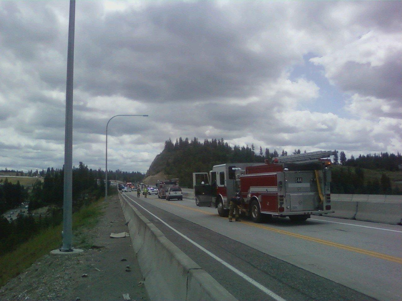 Monday, June 20th: US 395 at Wandermere Bridge