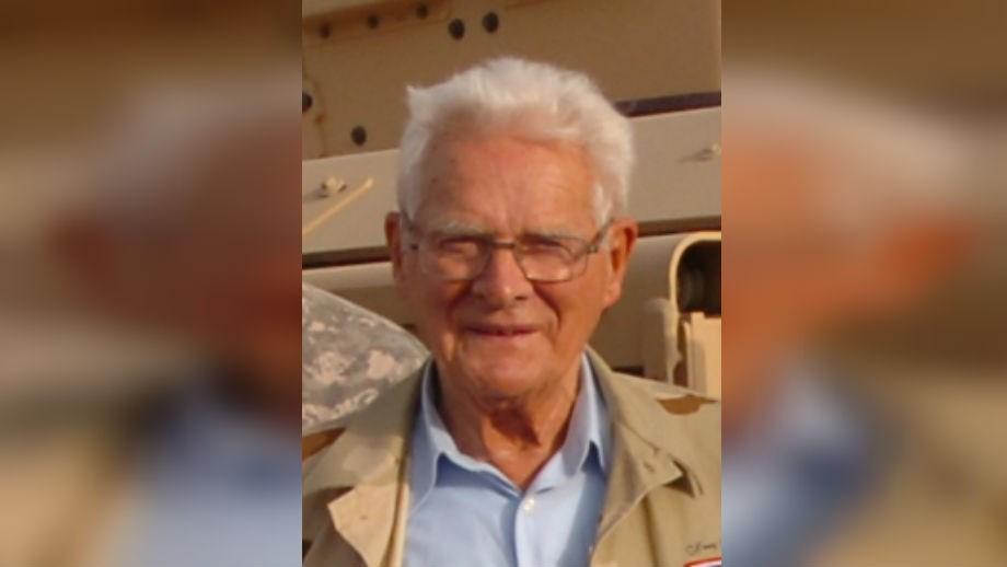 Donald Malarkey in 2008. Photo: Wikimedia