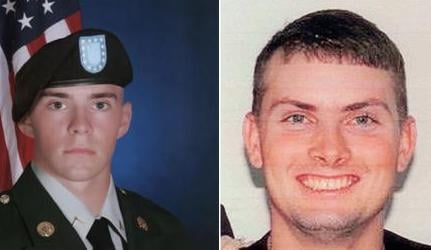 Spc. Nicholas Newby and Spc. Nathan Beyers