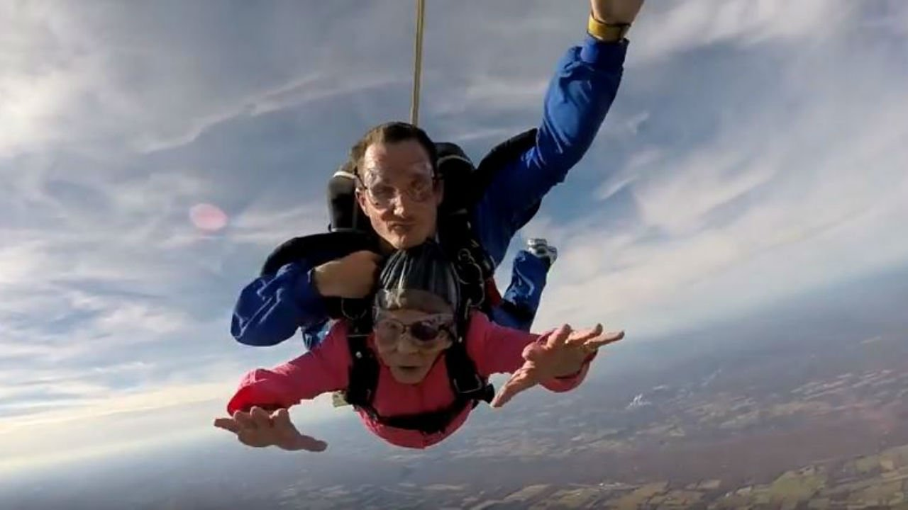 Photo: Above the Poconos Skydivers/YouTube
