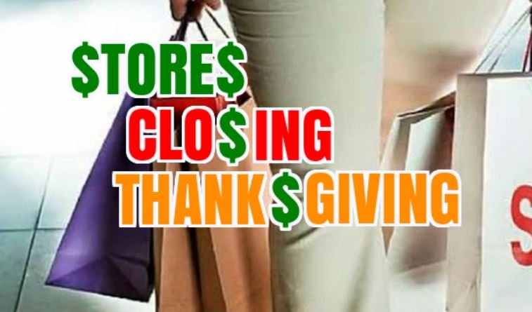 Shopping to hit all-time high Thanksgiving-Cyber Monday