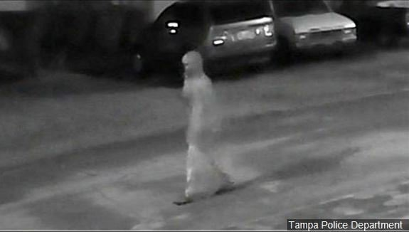 Tampa Police are asking the public for help identifying this person of interest in the recent Seminole Heights neighborhood murders in Tampa Florida, Photo Date: 10/23/17