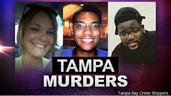 (L-R) Monica Hoffa, Anthony Naiboa and Benjamin Mitchell are believed to be victims of the Seminole Heights neighborhood killer in Tampa Bay Florida. And now, a 4th victim has been named as Ronald Felton.