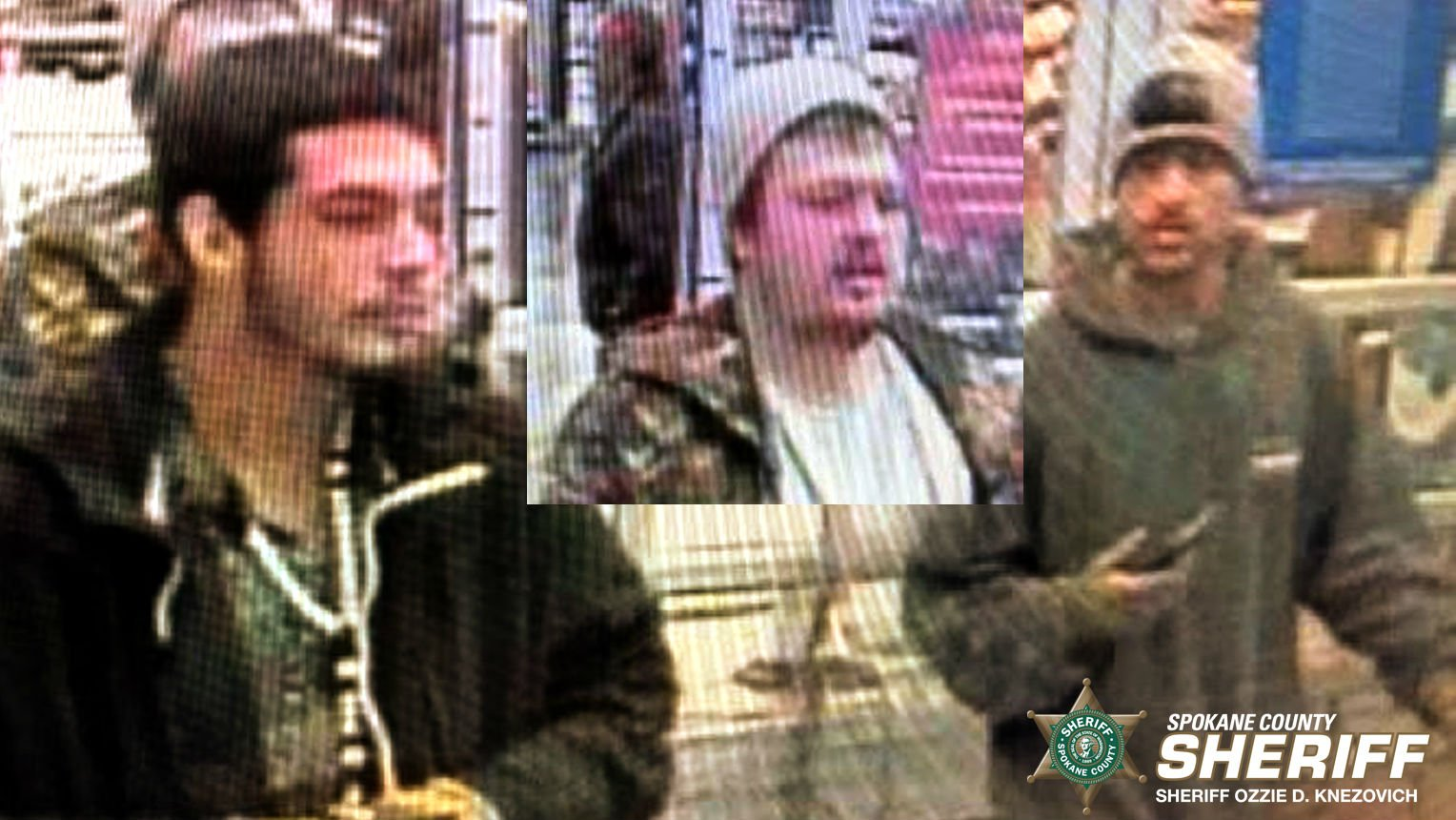 If you can help identify any of the male suspects in the photos, you are asked to call ITF Detective Jennifer Sutter at 509-477-3250, reference #10152259.