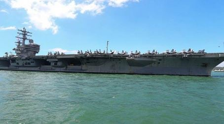 U.S. Navy Aircraft with 11 crew and passengers on board has crashed in the Philippine Sea, south east of Okinawa, Japan