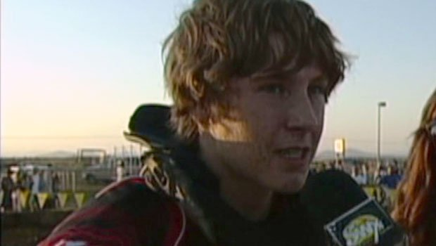 Austin Krum was interviewed by SWX after a motocross event earlier in the season (Photo: SWX)