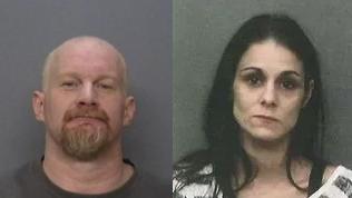 Fred Sanderson and Johanna Knighten (Photos: Redding Police Department)