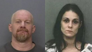 Fred Sanderson and Johanna Knighten (Photos: Redding Police Department)