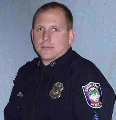 Spokane Police Officer Dan Lesser